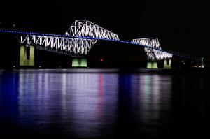 ゲートブリッジの夜景