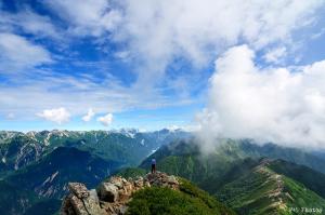 大天井岳からの眺め