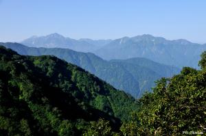 剱岳と毛勝山