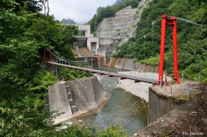 黒薙川の吊り橋