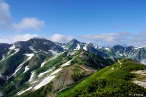 雪倉岳からの眺望