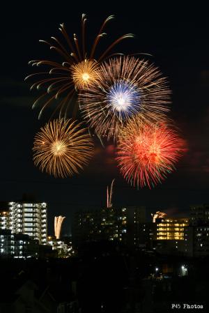 映画のまち調布花火2019