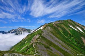 大好きな山域と稜線