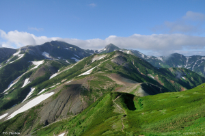 白馬岳と小蓮華山