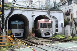 神泉のトンネル
