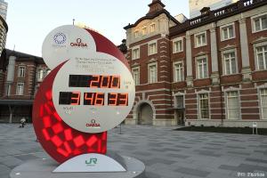 オリンピックカウントダウン時計
